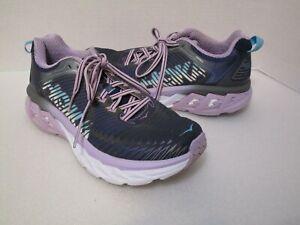 Hoka One One Arahi Gray Lavender 1016259 Running Training Sneaker Women's Size 7