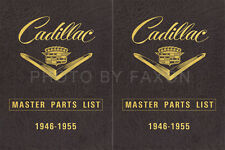 Cadillac Master Parts Book 1955 1954 1953 1952 1951 1950 1949 1948 Catalog