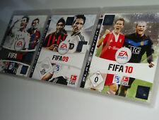 SAMMLUNG PS3 PLAYSTATION 3 EA SPORTS FIFA 08 09 10 BUNDESLIGA + 25 WEITERE LIGEN