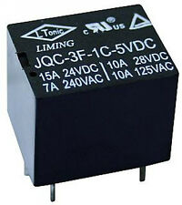 Kleinrelais / Printrelais LIMING JQC-3F-1C-5VDC 1xUM