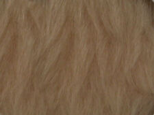 Oatmeal Plain Faux Fur Fabric Short Hair 150cm Wide SOLD BY THE METRE