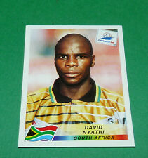 N°181 NYATHI SOUTH AFRICA AFS PANINI FOOTBALL FRANCE 98 1998 COUPE MONDE WM