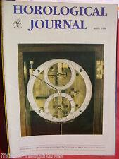 WATCH & CLOCK HOROLOGICAL JOURNAL 1988 APRIL GENE CLARK TOURBILLION WATCH