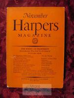 HARPER'S November 1930 STUART CHASE JULIAN HUXLEY J. C. SQUIRE GAMALIEL BRADFORD