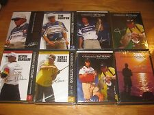 LOT OF 8 CLASSIC PATTERNS BASS FISHING ELITE SERIES DVDS NEW BASSMASTERS CLASSIC