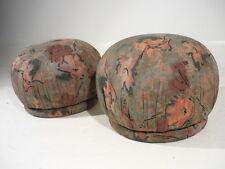 Pair Vintage Mid Century Modern Poufs/Footrests Springer/Baughman/Kagan Style