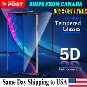 For iPhone 12 11 Pro Max XR X XS Max 8 7 6 Plus Tempered Glass Screen Protector