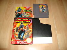 SHADOW WARRIORS NINJA GAIDEN NES-66-UKV BY TECMO FOR NINTENDO NES PAL A COMPLETE