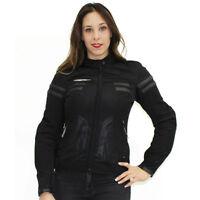 Chaqueta de moto para mujer, AGV Sport CELLE Chaqueta con Protección CE aprobado