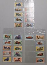 Veteran and  Vintage Cards tobacco card set of 25! Mobil Gas set! NM/MN! LOOK!
