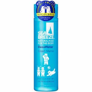 SEA BREEZE Deo & Water Splash marin 160ml Deodorants Water Shiseido Japan