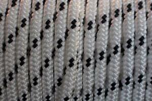 12MM Double Braided Rope Polyester Yacht Rope 27m Metres Black