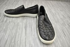 **ECCO Soft 7 Woven Casual Comfort Slip On Sneaker, Women's Size 7/EU 38, Black