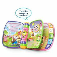 VTech Electronic Learning Rhymes Book Toys Musical Baby Kid Developmental PINK