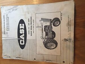 CASE INTERNATIONAL 730 830 TRACTORS TRACTOR PARTS CATALOG MANUAL USED