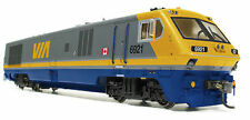 RAPIDO TRAINS BOMBARDIER LRC - VIA RAIL W/LOKSOUND, DCC & VERY DETAILED!
