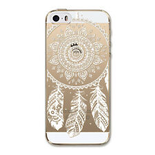 Hot Sale Dream catcher Pattern Soft TPU Back Case Cover Skin For iPhone 5/SE/5S