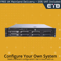 """Dell PowerEdge R530 1x8 3.5"""" Hard Drives - Build Your Own Server"""