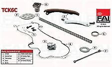 FAI TCK6C Timing Chain Kit for FIAT 500 500L Doblo Fiorino Idea 1.3 Diesel
