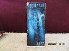 2002 Spyderco Knife Catalog Brochure