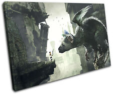 The Last Guardian PS4 Playstation Gaming SINGLE CANVAS WALL ART Picture Print