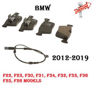 BMW 228i 230i 320i 328i 330i 428i 430i X3 X4 Front Brake Pads&Sensor SET GENUINE