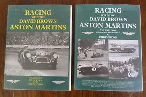 Racing with the David Brown Aston Martins Volumes 1 and 2 Chris Nixon John Wyer