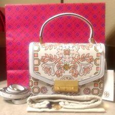 NEW!! $498 TORY BURCH Juliette Top Handle Satchel Bag (Hicks Garden) NWT 48028