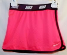 Nike Girls Sz 6 Mesh Scooter Skirt with Attached Shorts Hyper Pink NWT