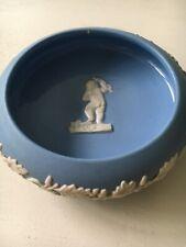 Blue Mid Century Wedgwood Jasperware Trinket/Pin Dish Euc