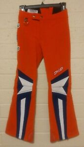 Vintage Spyder Ski Race Pants Youth Size 12 Made Japan Wool Blend