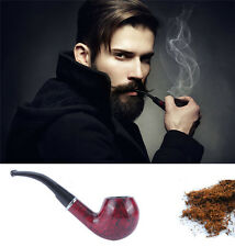 Smoker Pipe Rosewood Tobacco Cigarettes Cigar Pipes Gift Durable Stand