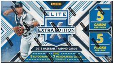 2018 Panini Elite Extra Edition Baseball Hobby Box!  8 Auto's!