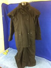 Saddlebrook Australian Oilskin Trench Coat Western Duster Men's size Small