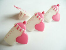 it's a Girl 24 Baby Bottle Baby Shower Cupcake Rings Party Game, Favors, Prizes