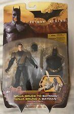 Dc Batman Begins Ninja Bruce To Batman Mattel Action Figure 2005