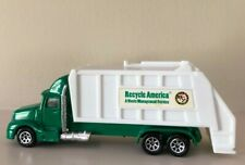 Hot Wheels, Recycle America A Waste Management Service Semi, Green