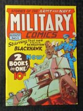 1970s FLASHBACK #5 FN+ 6.5 Reprint Military Comics #1 Blackhawk