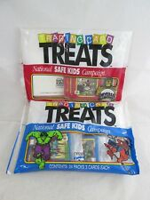 Trading Card Treats Marvel & Universal Studios Monsters - 2 Bags Sealed