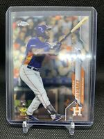 2020 Topps Chrome Yordan Alvarez Rookie Houston Astros RC #U-53