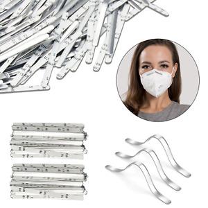 Aluminium Nez Pont Bandes Adhésif Clip Pour DIY Visage Masque Artisanat 500pcs