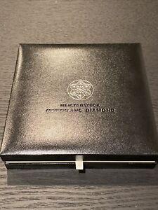 Montblanc Diamond Pen Black Meisterstuck Perfect Condition Genuine Great Gift