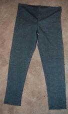 Old Navy Girls Black White Checkered  full length  Leggings Size L (10-12) NWOT