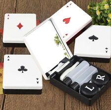 Container 1 Pcs Contact Lens Poker Health Random Color Case Pocket Mini Travel