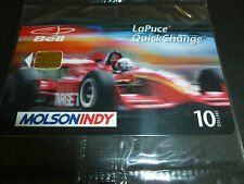 ZANARDI ALEX TARGET MOLSON INDY CAR 1998 CARTE CARD CARTAO PHONECARD WRAP SEALED