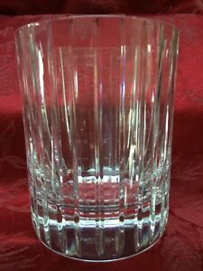 FLAWLESS Exquisite BACCARAT Glass HARMONIE Crystal TRIPLE DOF TUMBLER ICE HOLDER
