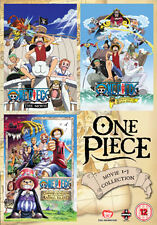 DVD:ONE PIECE MOVIE COLLECTION 1 (CONTAINS FILMS 1 TO 3) - NEW Region 2 UK