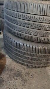 X2 Matching Pair Of 275/40/22 Pirelli Scorpion Zero M+S All Season Tyres 108Y