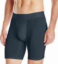 "2 pair pack - Tommy John black - extra large xl - boxer briefs underwear 9"""