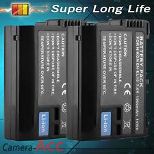 2xEN-EL15 Camera Battery Pack for Nikon D7000 D800 D800E D600 DSLR V1 UK RML